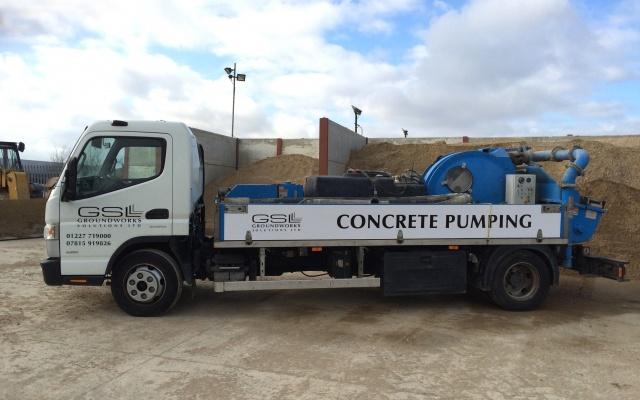 kent concrete pump